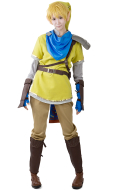 Zelda Hyrule Warriors Link Yellow Cosplay Costumes