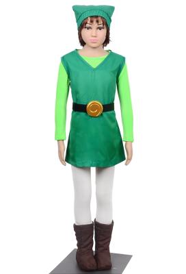 The Legend of Zelda Four Swords Link Green Cosplay Costume