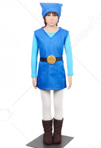 The Legend of Zelda Four Swords Link Blue Cosplay Costume