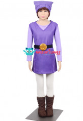The Legend of Zelda Four Swords Link Purple Cosplay Costume