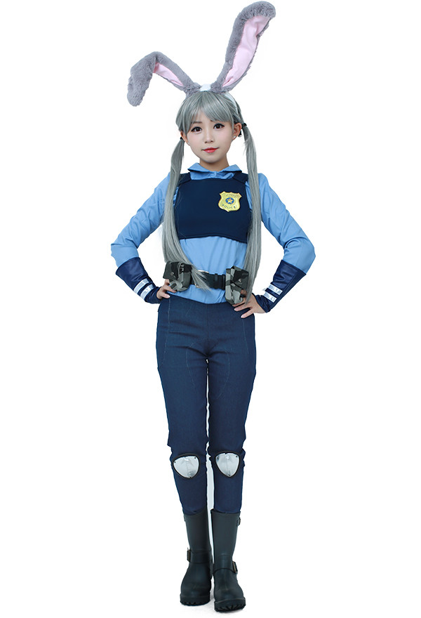 Judy Hopps Cosplay Kostüm Inspiriert von Zoomania
