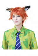 Fox Nick Wilde Cosplay Wig Inspired From Zootopia