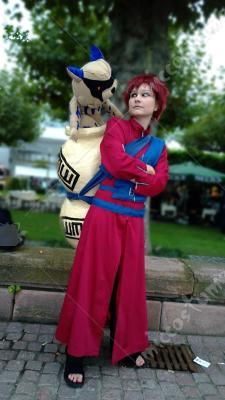 Naruto Gaara Cosplay Costume For Sale at Miccostumes.com Gaara Cosplay