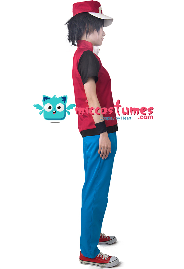 As an experienced dealer in cosplay costumes we offer you Pokemon Red cosplay costume with desirable features. Take a detailed look here.  sc 1 st  Miccostumes & Game Pokemon Trainer Red Cosplay Costume With Hat And Wristguards ...