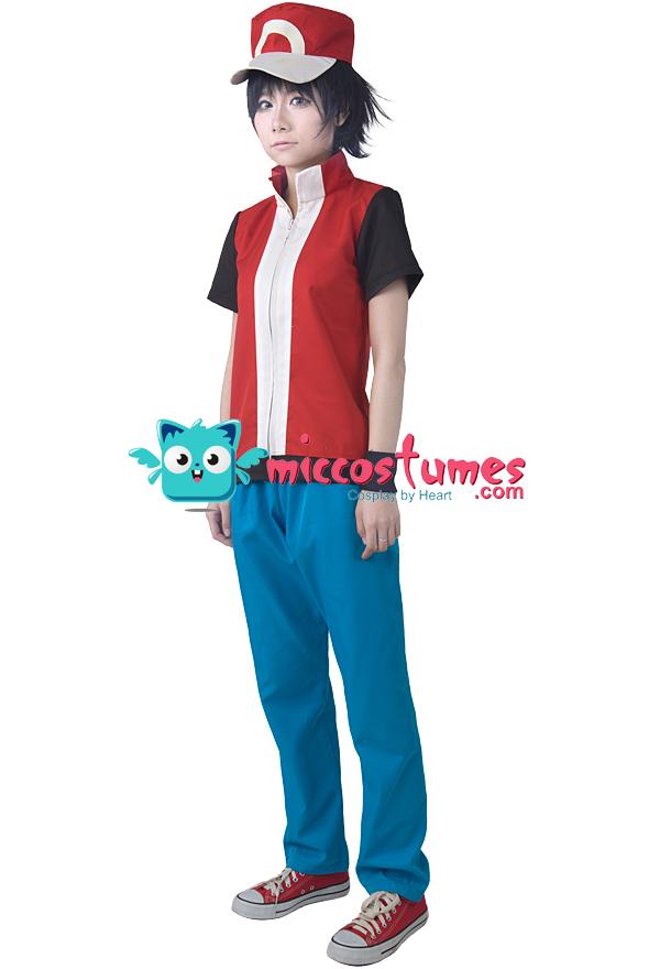 Detalle del producto  sc 1 st  Miccostumes.com & Pokemon Red Cosplay Costume For Sale at Miccostumes.com