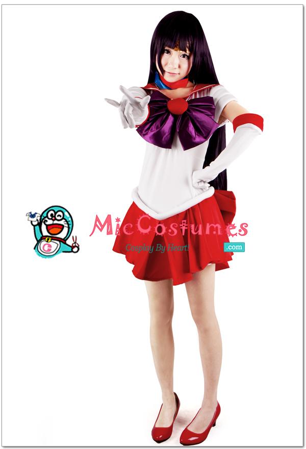 Sailor Moon Hino Rei Sailor Mars Cosplay Costume For Sale