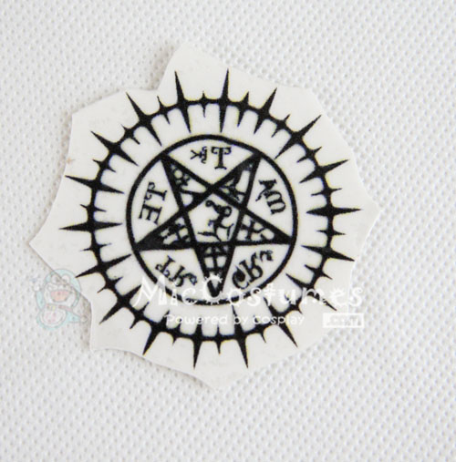 Black Butler Sebastian Michaelis Cosplay Tattoo Sticker