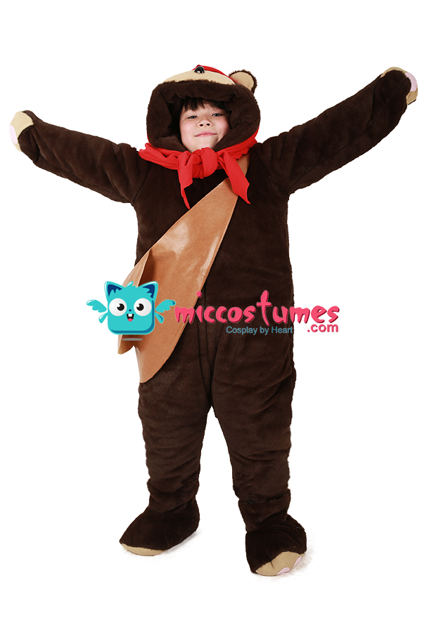 Large Bear  sc 1 st  Miccostumes.com & Kids Bear Costume Mascot with Scarf