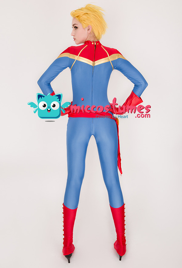 ef410c80528 Superhero Cosplay Jumpsuit Costume Spandex Lycra Bodysuit Inspired ...