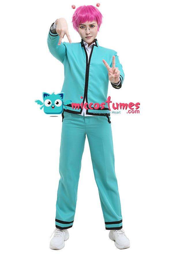 Anime Saiki Kusuo no Psi Nan K.Ψ-Nan Cosplay Costume School Uniform Suit 3PCS
