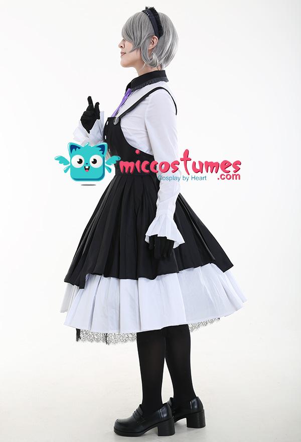 Details about  /Danganronpa 3 Killing Harmony Kirumi Tojo Maid Dress Cosplay Costume Women Suit