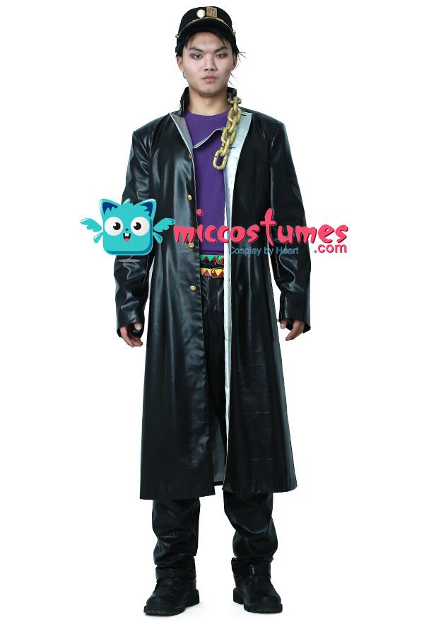 Details about  /Anime JoJo/'s Bizarre Adventure Kujo Jotaro Cosplay Costume full set/&