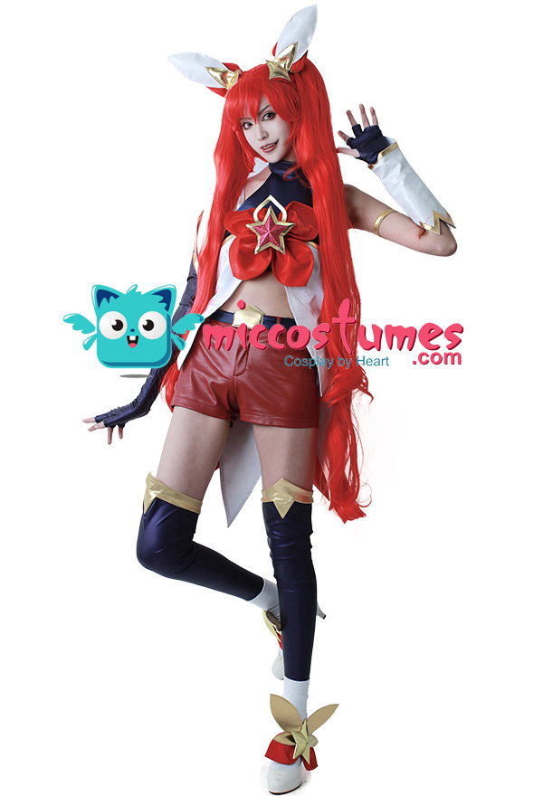 Jinx in League of Legends Costume   DIY Guides for Cosplay ...   Jinx League Of Legends Outfit
