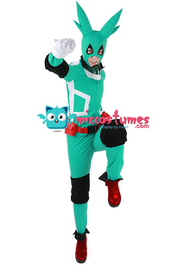Deku Costume - My Hero Academia Cosplay | Hero Suit for ...