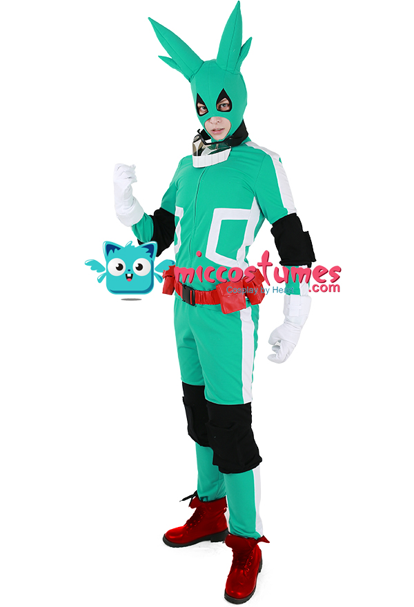 My Hero Academia Midoriya Izuku Deku Cosplay Costume ...