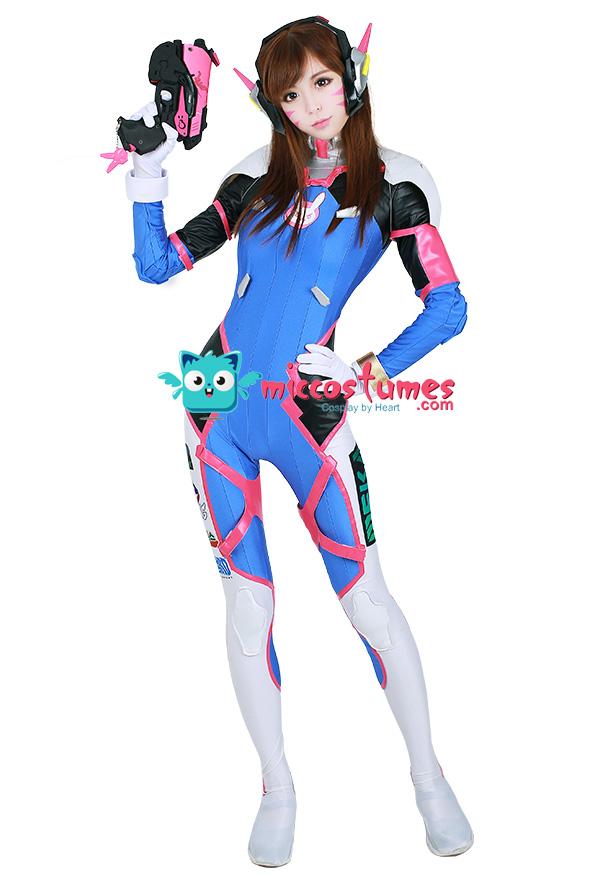 Overwatch D.Va Hana Song Cosplay Costume
