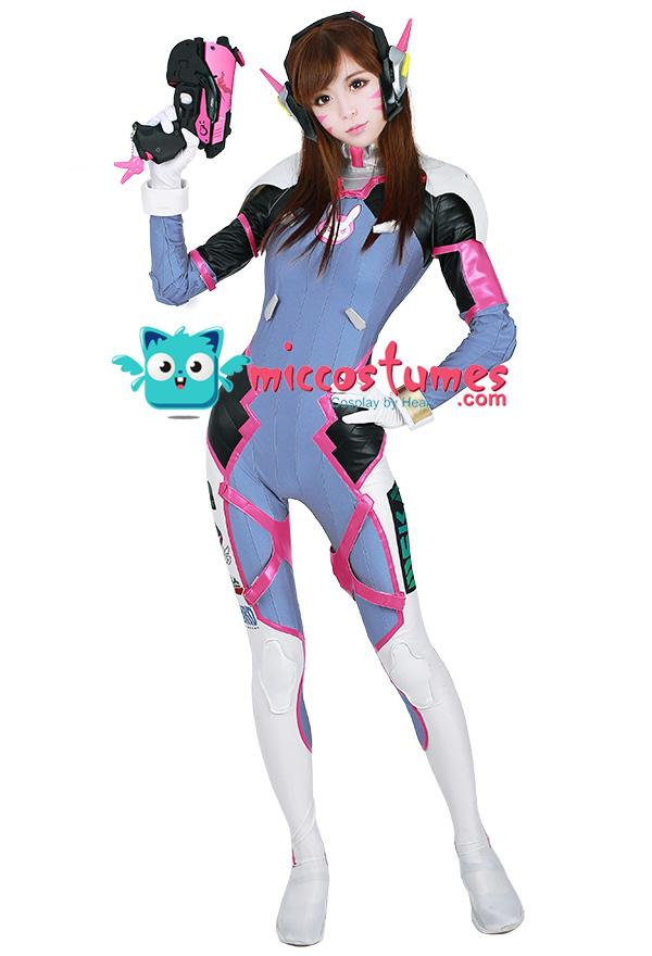 D.va Overwatch Ow Shoulder Pad Neck Armor Dva Prop Replica Cosplay Costume Game