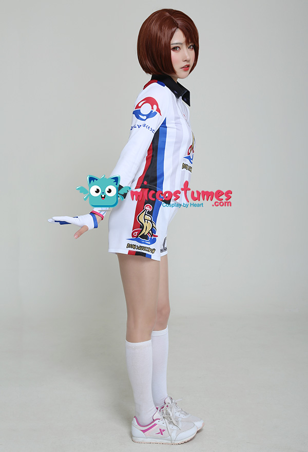 Bea Cosplay Sword Shield Video Game Top and Shorts