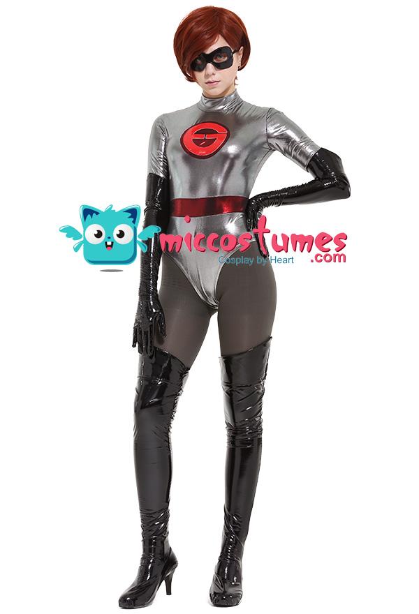 The Incredibles 2 Elastigirl Mrs Incredible Helen Parr Cosplay Costume Bodysuit With Mask