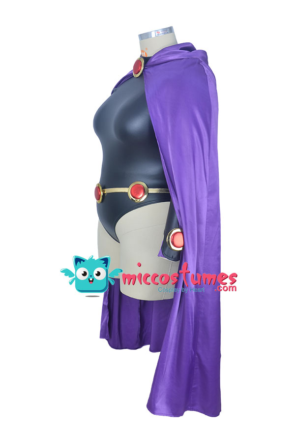 Superheroine Plus Size Halloween Cosplay Costume Inspired By Raven