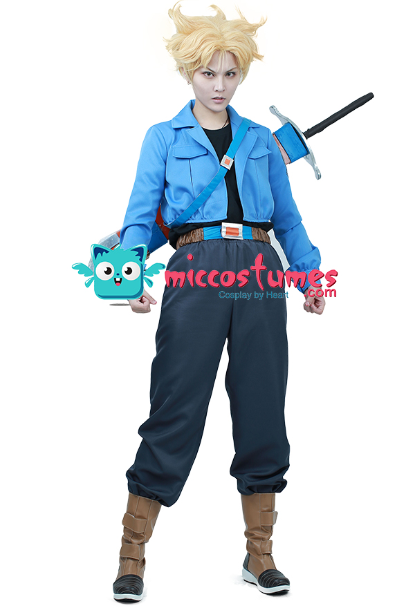 Dragon Ball Super Trunks Cosplay Costume For Sales