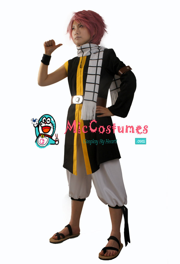 Fairy Tail Natsu Dragneel Cosplay Costume For Sale