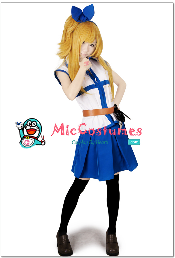 Lucy fairy tail cosplay costume