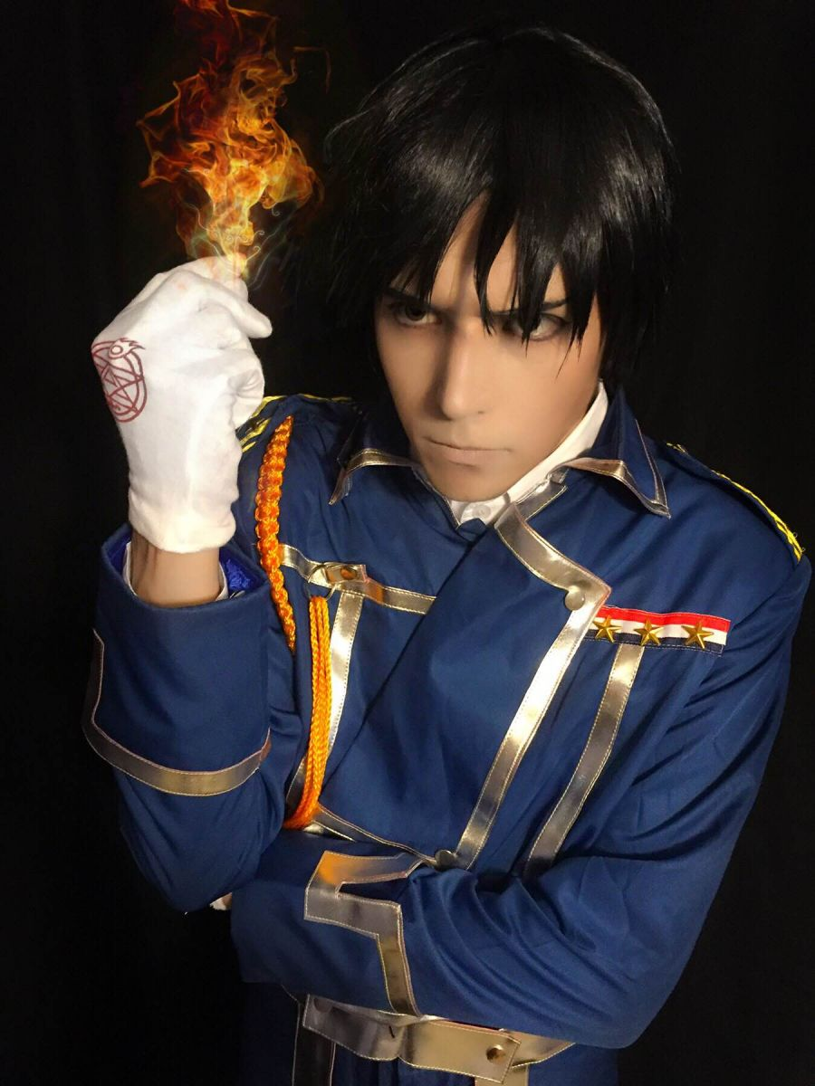 Fullmetal Alchemist Roy Mustang Cosplay Costume For Sale