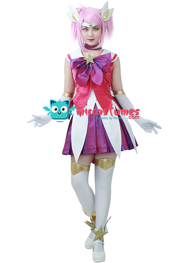 League Of Legends The Lady Of Luminosity Star Guardian Lux Cosplay ...