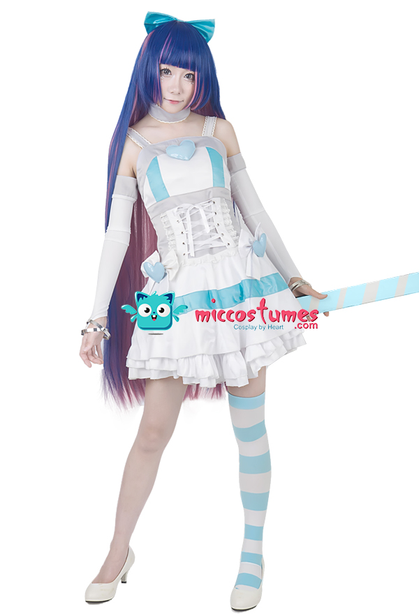 Panty And Stocking Cosplay Costume - New Porn-8094