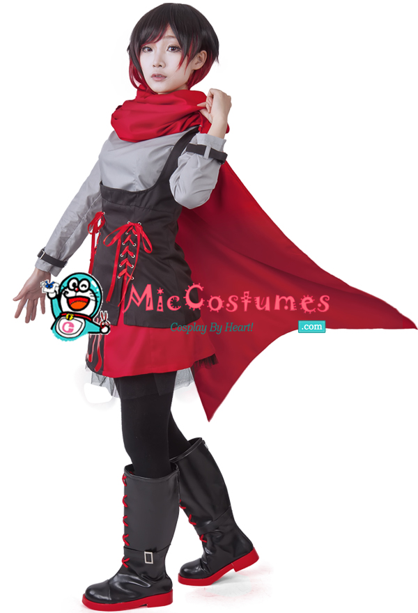 Rwby Season 2 Ruby Red Rose Cosplay Costume For Sale