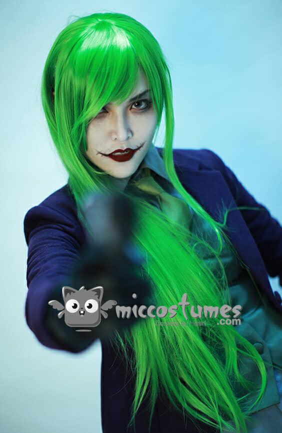 Joker Gloves And Wig 56