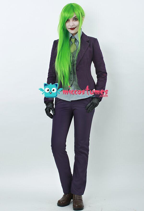 Joker Gloves And Wig 89