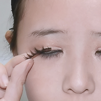 how to use eyelashes in tamil