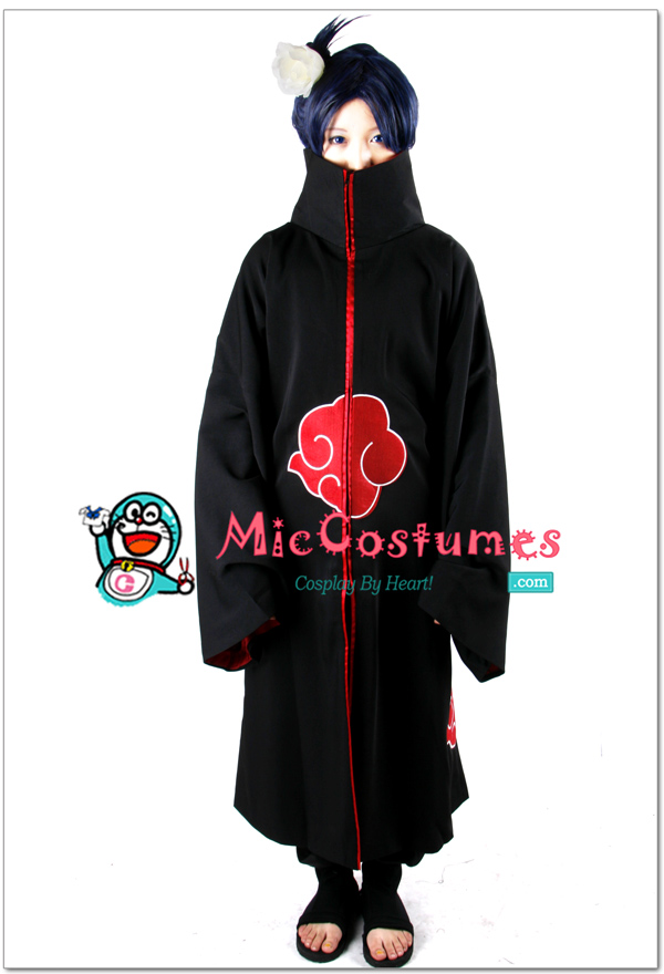 Available Internationally Yes & Naruto Akatsuki Konan Cosplay Costume For Sale at Miccostumes.com