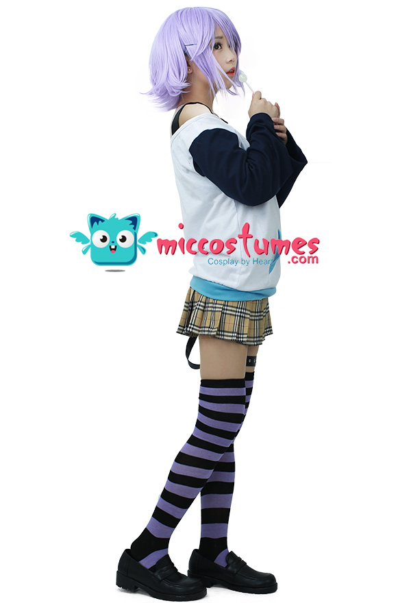 Rosario and Vampire Shirayuki Mizore Cosplay Costume
